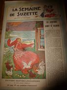 1949 LSDS: La Leçon De L'ARAIGNEE ; Les Aventures De Jaunet De Zillebeke ; Ecole Polytechnique Pour Les Filles ; Etc - La Semaine De Suzette