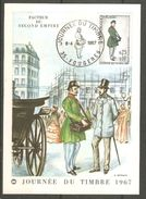 Carte De 1967 ( Journée Du Timbre ) - 1960-69