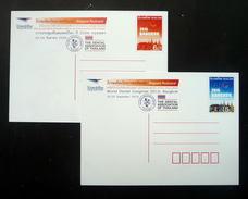 Thailand Postcard Prepaid 2015 15 Baht Bangkok World Dental Congress - FDI (2) - Thailand