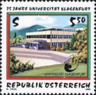 Ref. 121240 * NEW *  - AUSTRIA . 1995. 25th ANNIVERSARY OF KLAGENFURT UNIVERSITY. 25 ANIVERSARIO DE LA UNIVERSIDAD DE KL - 1991-00 Nuovi & Linguelle