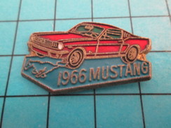 Pin414c Pin's Pins / Beau Et Rare / AUTOMOBILE / FORD MUSTANG DE 1966 - Ford