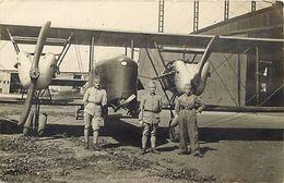 Themes Div -ref U856- Carte Photo -aviation -avions -militaires Militaria -luxeuil -haute Saone Dans La Correspondance - - Avions