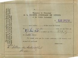 SOCIETE LYONNAISE DE DEPOTS ET DE CREDIT INDUSTRIEL 1935 - 1900 – 1949