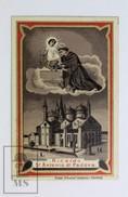 Vintage Religious Holy Card - Ricordo Di St. Antonio Di Padova - Imágenes Religiosas