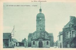 35. LE VIVIER SUR MER. CPA . L'EGLISE . ANNÉE 1932. - Autres Communes