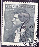 Tschechoslowakei CSSR - Karel Havlísek-Borovsky' (MiNr: 501) 1946 - Gest Used Obl - Gebraucht