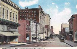 Looking East On West Fourth Street, Winston-Salem - Winston Salem