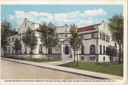 Young Women's Christian Association Building, First And Church Streets -  Winston-Salem - Winston Salem