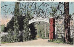Gateway To Moravian Cemetery, Winston-Salem - Winston Salem