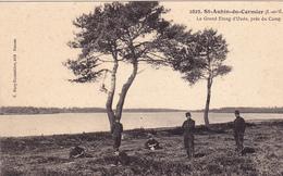 35. SAINT AUBIN DU CORMIER . LE GRAND ÉTANG D'OUEE PRES DU CAMP ANNÉE 1911 - France