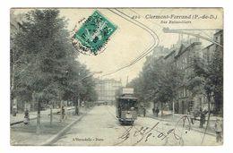 PUY DE DOME 63 CLERMONT-FERRAND Rue De Balainvilliers Avec Tramway - Clermont Ferrand