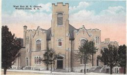 West End M.E. Church - Winston-Salem - Winston Salem