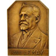 France, Medal, Paul Lemay, Administrateur Directeur Général Des Mines - France