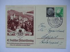 GERMANY - 1936 Postcard - 42 Deutscher Philatelistentag - Allemagne