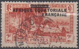 AFRIQUE  EQUATORIALE  FRANCAISE  N°26__OBL VOIR  SCAN - A.E.F. (1936-1958)