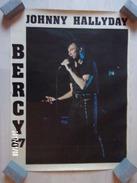 Johnny Hallyday Bercy 87 - Plakate & Poster
