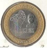 Benin - 6000 CFA 2003 Mathieu Kerekou - Bimetallic Commemorative - UNC - Benin
