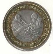Benin - 6000 CFA 2005 Pope John Paul II - Bimetallic Commemorative - UNC - Benin