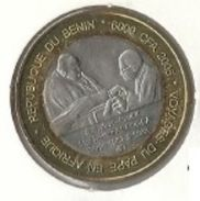 Benin - 6000 CFA 2005 Pope John Paul II - Bimetallic Commemorative - UNC - Benín