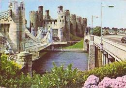 Pays De Galles        H17        Conway Castle - Pays De Galles