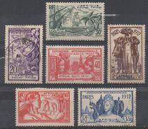 AFRIQUE  EQUATORIALE  FRANCAISE  N°27/32 OBL 28/29/30/31 Neuf* VOIR  SCAN - A.E.F. (1936-1958)