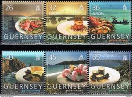 Guernsey - 2005 - Europa CEPT - Gastronomy - Mint Stamp Set - Guernsey