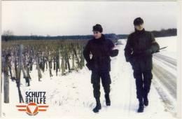 HEEER BUNDESHEER FELDPOST VON ASSISTENZEINSATZ IM BURGENLAND 1994 - Patriotiques