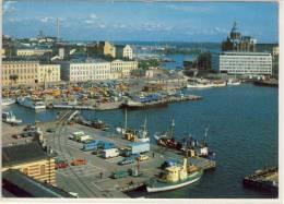 HELSINKI ETELÄRANTA Air View  NICE STAMP - Finlande