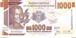Guinea - Pick 48 - 1000 Francs 2015 - Unc - Guinea