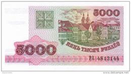 Belarus - Pick 17 - 5000 Rublei 1998 - Unc - Bielorussia