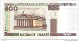 Belarus - Pick 27b - 500 Rublei 2000 - 2011 - Unc - Bielorussia