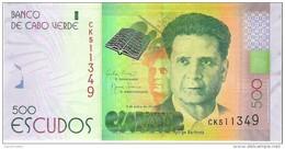 Cape Verde - Pick 72 - 500 Escudos 2014 - Unc - Cape Verde