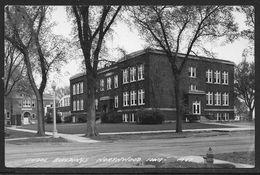 Le Etats-Unies Carte Postale, POSTCARD OF UNITED STATES, SCHOOL BUILDINGS NORTHWOOD IOWA - Iowa City