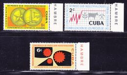 CUBA N°  550 à 552 ** MNH Neufs Sans Charnière, TB  (D2168) - Neufs