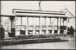 Kidderminster And Stourport Electric Tramway Company Tram No 9 At Foley Park Loop, 1899 - Photograph - Reproductions