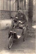 Cpa MILITARIA   SOLDAT MERESSE   Blesse A La Bataille De La Marne 1914  Ampute A Nantes - Guerra 1914-18