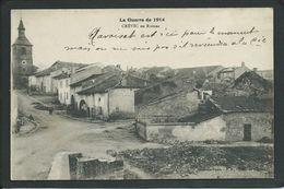 54 CREVIC (MEURTHE ET MOSELLE). GUERRE DE 1914. RUINES.... C2412 - France