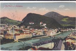 1918 Postcard SALZBURG AUSTRIA Panoramic - Austria