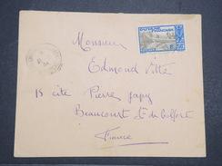GUYANNE - Env De St Laurent Du Maroni Pour Le Territoire De Belfort - Par Avion - Juil 1934 - P22095 - Guyane Française (1886-1949)