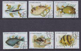 Sao Tome E Principe 1979 Fishes 6v Used Cto (37126) - Sao Tome En Principe