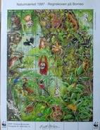 Denmark 1997   WWF Panda Issue Preserve , The Rainforest On Borneo, Folding Sheets( Mappe ) - Nuovi