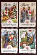 Ghana 1988 Red Cross MH - Ghana (1957-...)