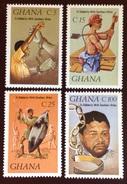 Ghana 1987 Solidarity With Southern Africa MNH - Ghana (1957-...)