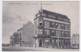 Middelkerke  Cpa La Rue De Paris Villa L'Espérance  Anno 1908 - Middelkerke