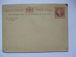 INDIA - Patiala State - Victoria Stationary Postcard Un Used - Patiala