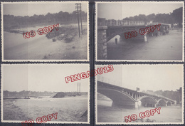 Chemin De Fer De Provence Saint Aygulf 27 Avril 1951 * Pont Beau Format - Trains