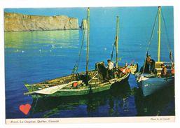 23894-LE-CANADA-Percé,La Gaspésie,Québec,Canada-------------bateaux-animée - Percé