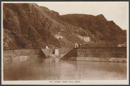 The Large Tank Full, Aden, Yemen, C.1920s - Benghiat RP Postcard - Yemen