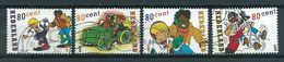 2000 Netherlands Complete Set Comics,Sjors And Sjimmie Used/gebruikt/oblitere - Periode 1980-... (Beatrix)