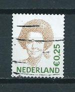 2002 Netherlands Queen Beatrix 0,25 EURO Used/gebruikt/oblitere - Period 1980-... (Beatrix)